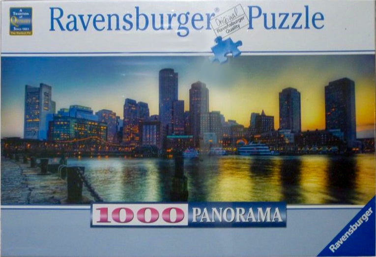 Ravensburger Puzzle 1000 Panorama Boston Skyline
