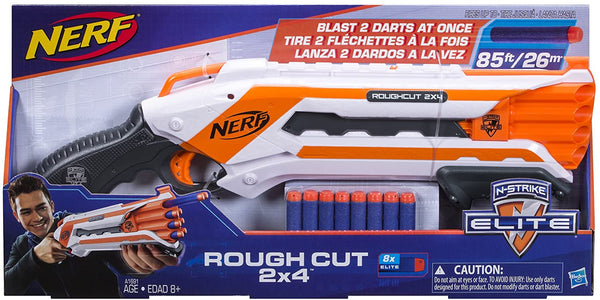NERF - N-Strike Rough Cut 2x4 Blaster
