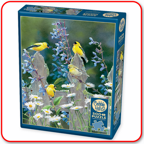 Goldfinch Quartet - Cobble Hill 500pc Puzzle