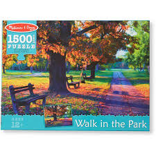 Melissa/Doug Walk in the Park - 1500 pc