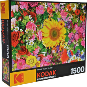 Kodak Premium : Colorful Flower Bed - 1500pc