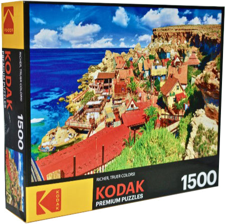 Kodak Premium : Famous Popeye Village at Anchor Bay Malta - 1500pc