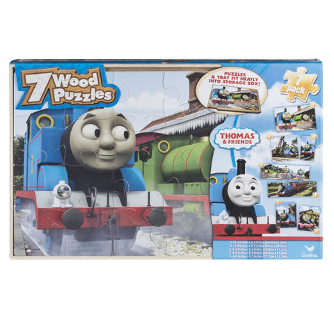 Thomas & Friends - 7in1 Wood Puzzle Set