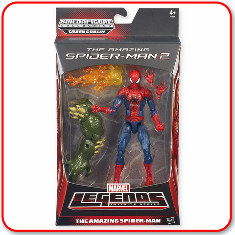 "Marvel Legends Spiderman Infinite - 6"" Figure : Amazing Spiderman"