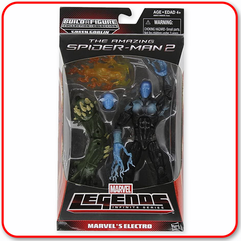 "Marvel Legends Spiderman Infinite - 6"" Figure : Electro"