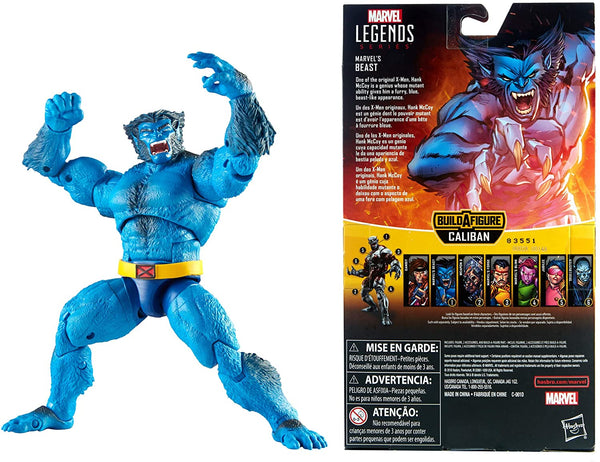 "Marvel Legends Xmen - Beast 6"" Figure"