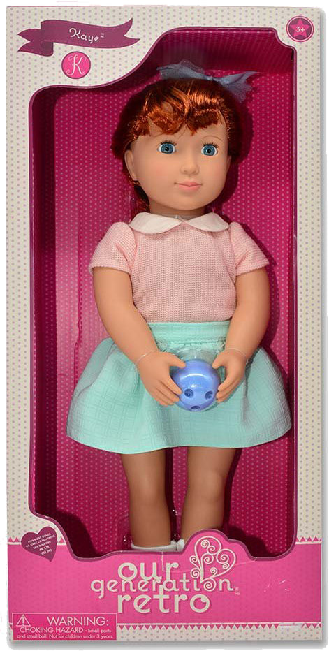Our Generation - Retro Bowling Doll Kaye
