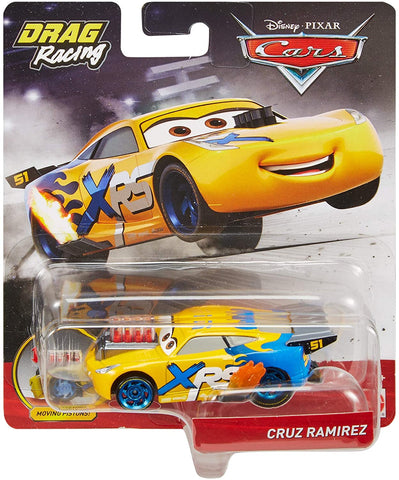 Disney Pixar Cars XRS Drag Racing Cruz Ramirez