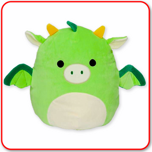 "Squishmallows - 12"" Dexter the Green Dragon"