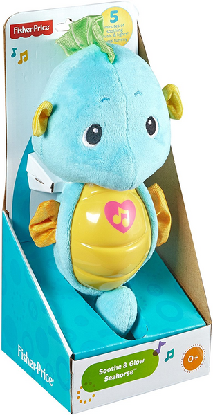 FISHER PRICE - Soothe & Glow Seahorse