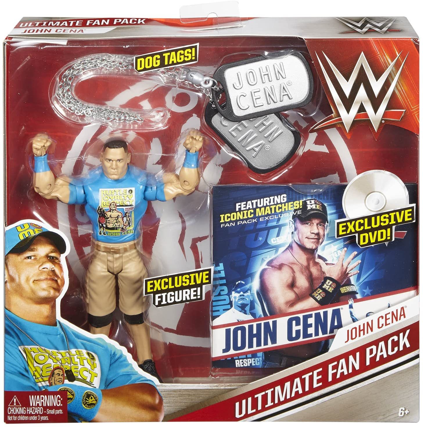 WWE Ultimate Fan Pack: John Cena