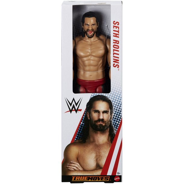 "WWE True Moves 12"" Figures: Seth Rollins"