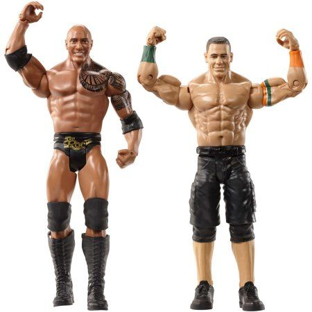 WWE WrestleMania 2-Pack: The Rock & John Cena