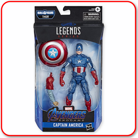 "Marvel Legends Avengers - Capt America 6"" Figure"