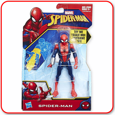 Spiderman - 6inch Spiderman figure