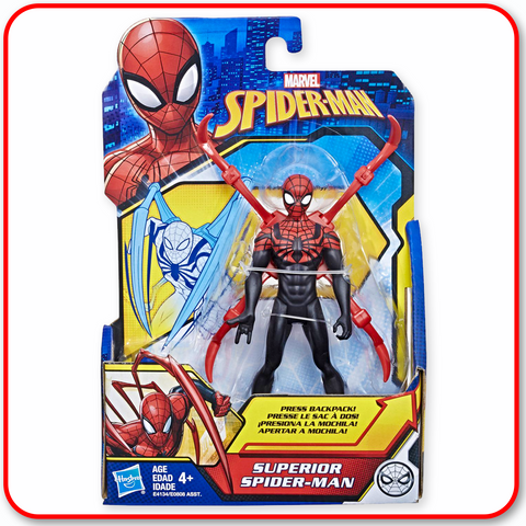Spiderman - 6inch Superior Spiderman
