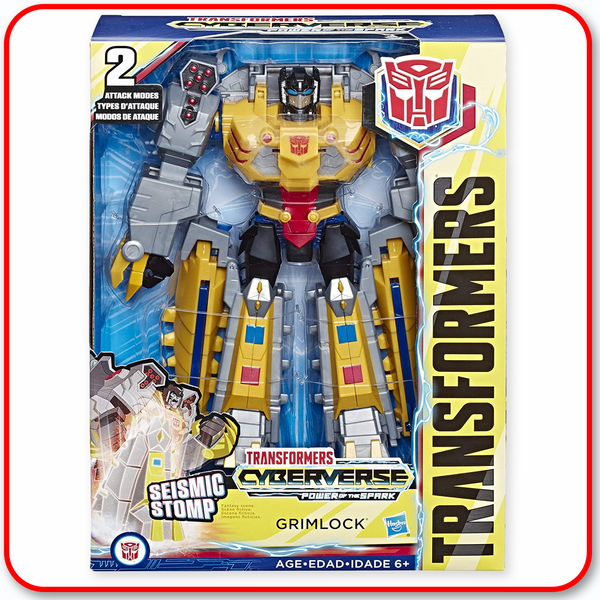 Transformers - Cyberverse Ultimate Class : Grimlock