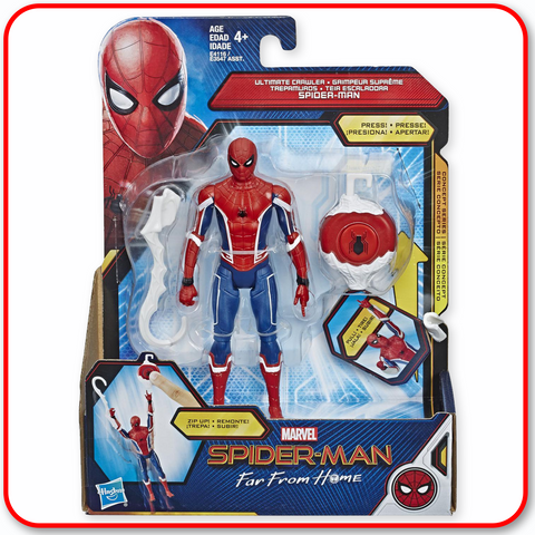 Spiderman - Far From Home 6in Feature : Ultimate Crawler Spider-Man