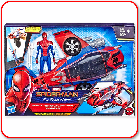 Spider-Man, Far From Home - Spider-Jet with Figure