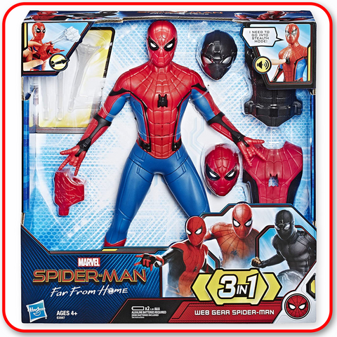 Spider-Man: Far from Home Deluxe 13-Inch-Scale Web Gear Action Figure