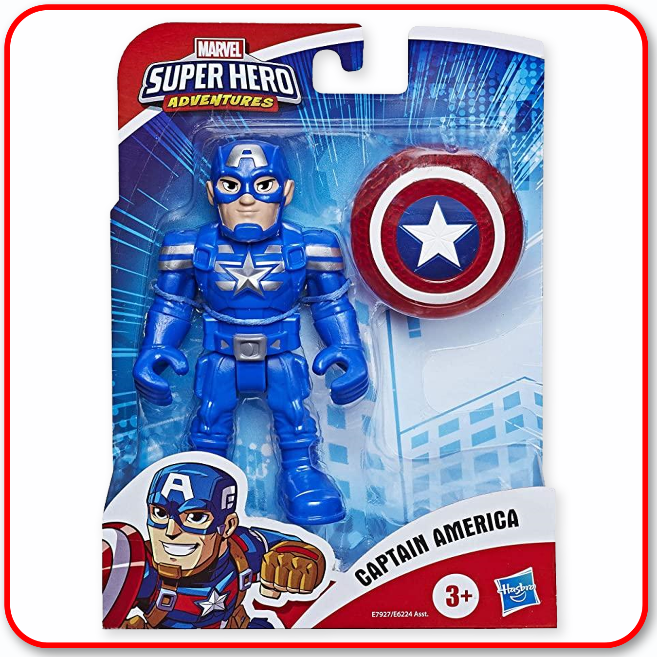 Super Hero Adventures - Captain America
