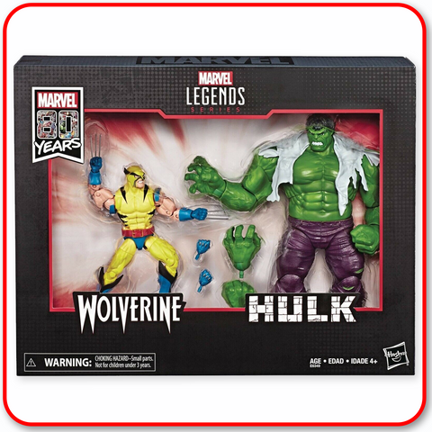 Marvel Legends - 80th ANN. Hulk & Wolverine