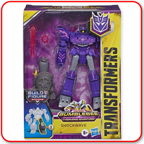 Transformers - Cyberverse Dlx Figure : Shockwave