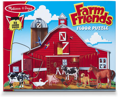 Melissa & Doug - Farm Friends Floor Puzzle