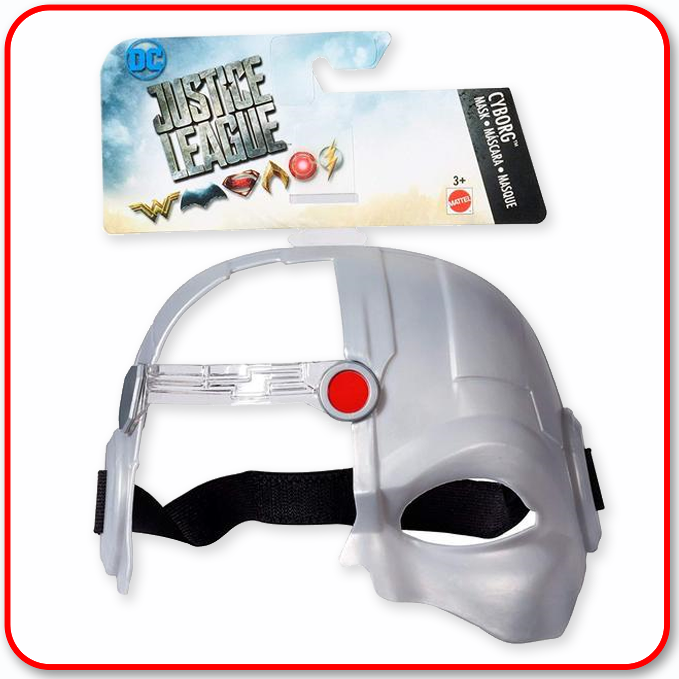 Justice League : DC Comics Hero Mask - Cyborg