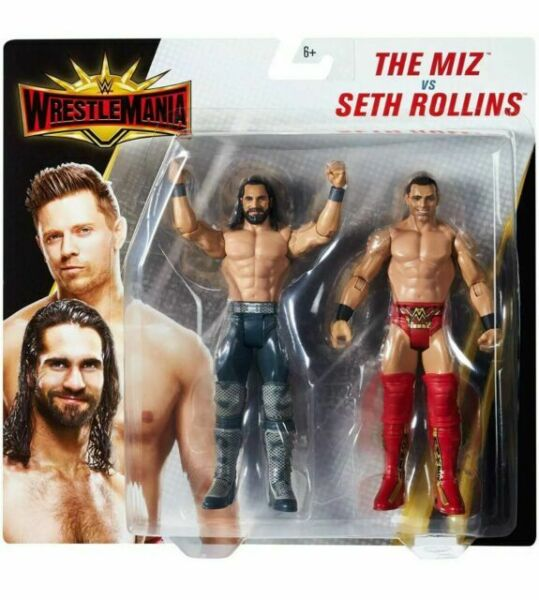 WWE WrestleMania 2-Pack: The Miz vs Seth Rollins