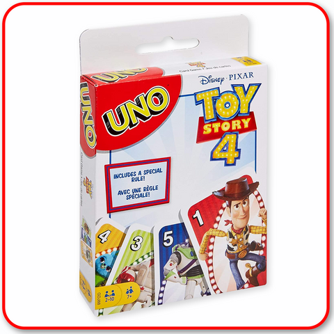 Disney Pixar : UNO Toy Story 4 Edition