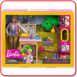 Barbie - National Geographic Entomologist Playset