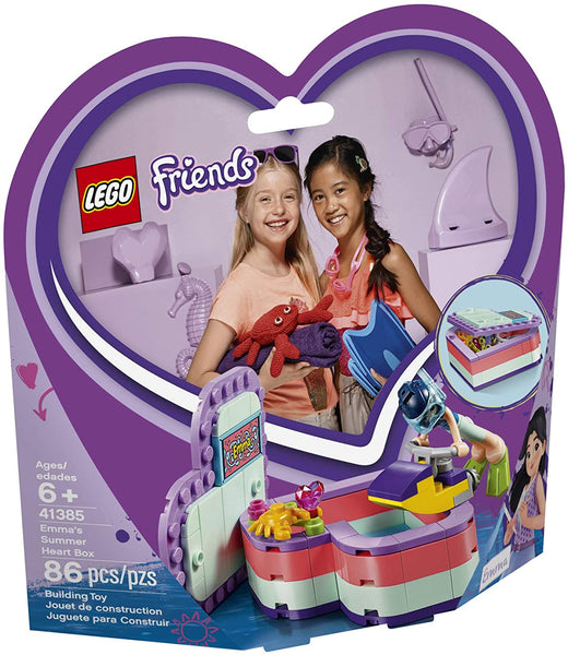 LEGO Friends - Emma's Summer Heart Box 41385
