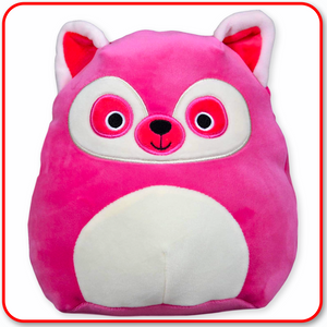 "Squishmallows - 12"" Lucia the Pink Lemur"