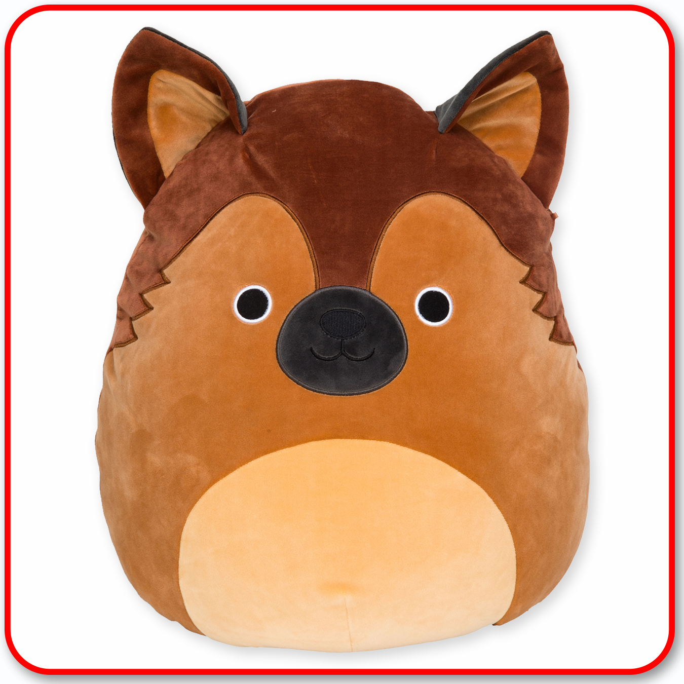 "Squishmallows - 12"" DOGS Mario the German Shepherd"
