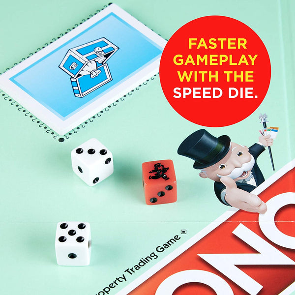 Monopoly - Speed Die Board Game