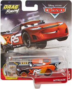 Disney Pixar Cars XRS Drag Racing Nitroade