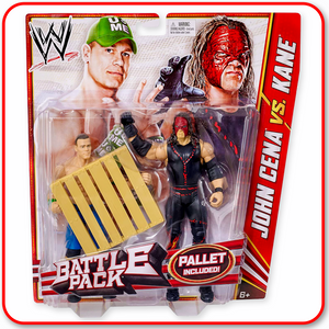 WWE BATTLE PACK: John Cena vs. Kane