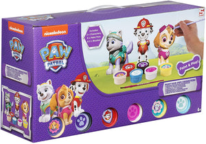 Paw Patrol PWP3-4269 Paint Your Own Figures - Multicolour (Pack of 3)
