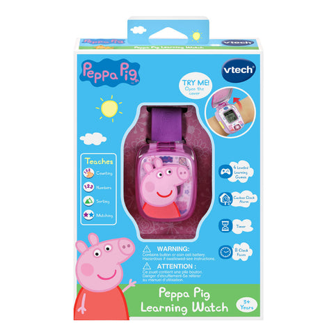 VTech Peppa Pig - Learning Watch - English Edition