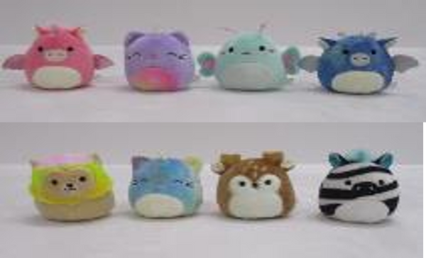 "Squishmallows - 2.5"" Mystery Squad Capsule ** ASSORTMENTS VARY"