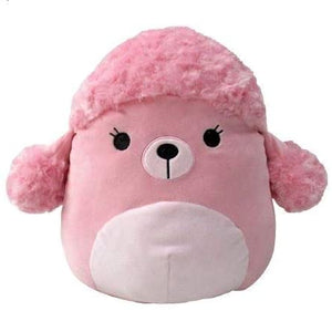 "Squishmallows - 7"" Pink Poodle (Valentine's Edition)"