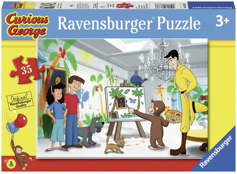 Look Curious George! 35 pcs Puzzle
