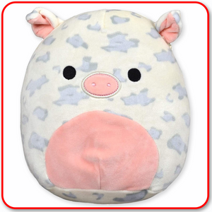 "Squishmallows - 12"" FARM ANIMALS Rosie the Pig"