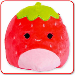 "Squishmallows - 8"" FRUIT Scarlet the Strawberry"