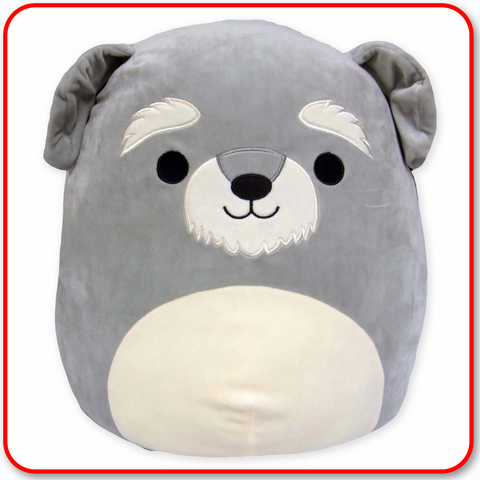 "Squishmallows - 12"" Shaun the Schnauzer"