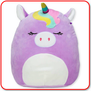 "Squishmallows - 12"" Silvia the Pastel Purple Unicorn"