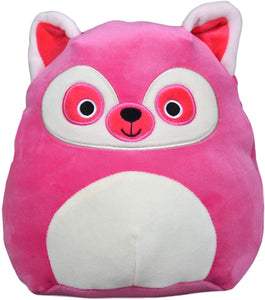 "Squishmallows - 8"" BRIGHT SQUAD Lucia the Pink Lemur"