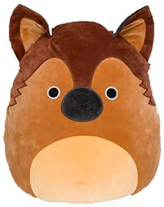 "Squishmallows - 8"" DOGS Mario the German Shepherd"