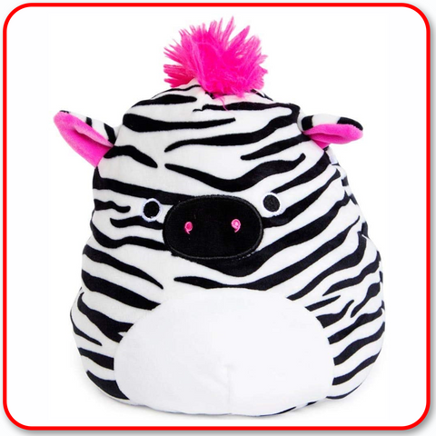 "Squishmallows - 7"" Tracey the Zebra"